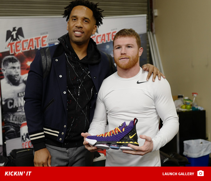 LeBron James Sends 'Very Special' Gift to Canelo ... Before Jacobs Fight