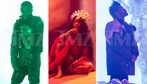 The Weeknd, SZA & Travis Scott Shoot 'GoT' Music Video, 'Power is Power'