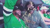 Dak Prescott Feeds Ezekiel Elliott Entire Bucket Of Popcorn At Stars Game