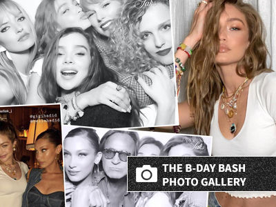 See INSIDE Gigi Hadid's Wild Birthday Bash with Taylor Swift, Bella and More!