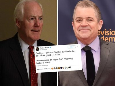 Republican Senator Comes at Patton Oswalt For Offensive Tweets... and it Goes How You'd Expect