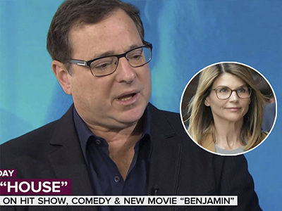 Here's What Lori Loughlin's 'Fuller House' Costar Bob Saget Said About College Admissions Scandal