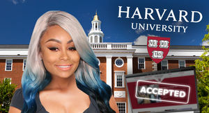 Blac Chyna Admitted to Class at Harvard Online Business School