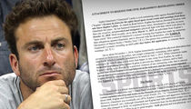 Tennis' Justin Gimelstob Files for Restraining Order Against Guy He Beat Up