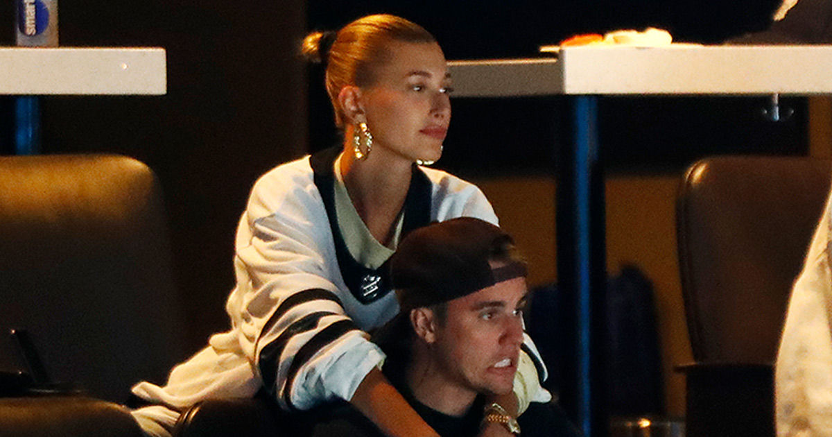 Hailey Baldwin Comforts Devastated Justin Bieber as Maple Leafs Lose Game 7!