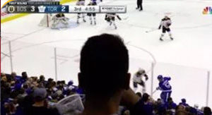 NBC Sports Explains Why That Guy's Head Blocked Camera During Bruins-Leafs Game