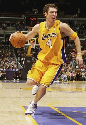 Luke Walton on the Lakers