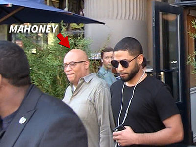 Jussie Smollett Hanging with 'Empire' Exec, Signs Point to Him Returning