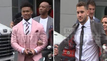 NFL Draft Prospects Swag Out, Kyler Murray Rocks Pink Suit!