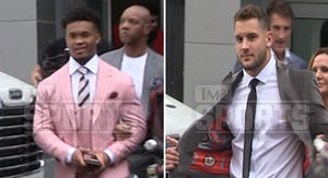 NFL Draft Prospects Swag Out, Kyler Murray Rocks…