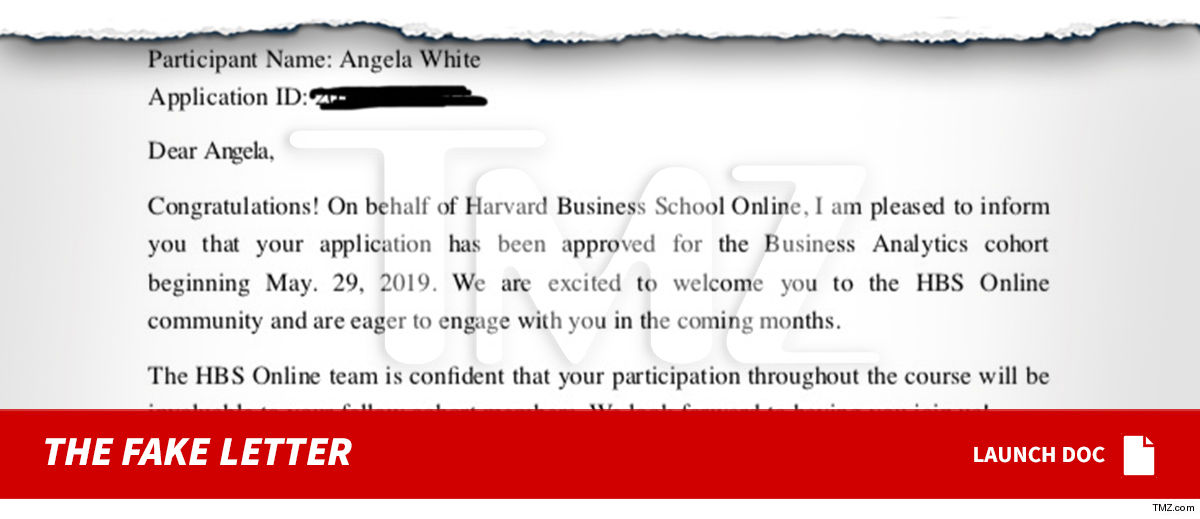 Harvard Alums Pissed About Blac Chyna 'Acceptance Letter,' Alerted