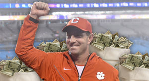 Clemson's Dabo Swinney Inks Massive $93 Million Deal
