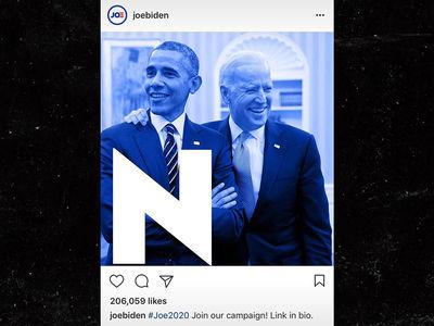 Joe Biden Instagram Fail, Post Has Giant 'N' on Barack Obama Pic