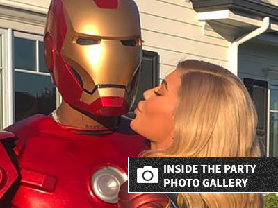 Kylie, Travis and Stormi Went ALL OUT for 'Avengers' Party -- See Stormi's Thor Costume!