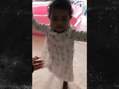 Khloe Kardashian Shares Moment Daughter True Takes First Steps
