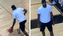 LeBron James In Offseason Training Mode, Even At Son's Game