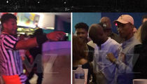 Pharrell, Usher, Pusha T Party at Roller Skating Rink Before Music Fest