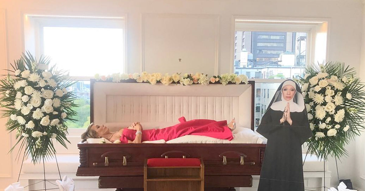 Shark Tank Star Barbara Corcoran Was Dying To Turn 70 Coffin And