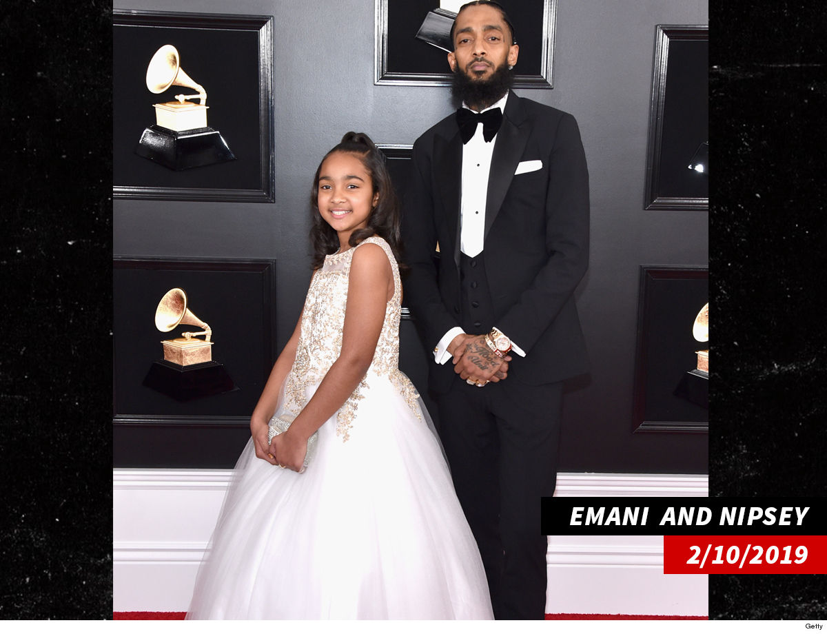 7635dc76 Emani's been living with Nipsey's sister, Samantha, a well-established  businesswoman, since his death ... and his family is currently locked in a  bitter ...