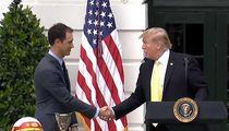 Donald Trump Honors NASCAR's Joey Logano at White House