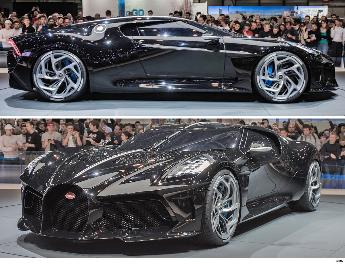 Image result for Cristiano Ronaldo Has Bought The World's Most Expensive Car - A £9.5m Bugatti