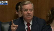 Sen. Lindsey Graham Reads 'Trump is a F***ing Idiot' Text During Barr Hearing