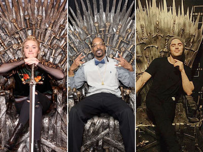 'GoT' Famous Fans -- Stars Taking The Iron Throne