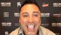 Oscar De La Hoya Wants To Promote Kevin Hart's Boxing Career, Seriously