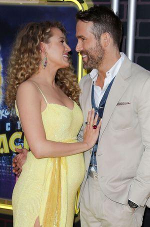Blake Lively Pregnant At Pikachu Premiere