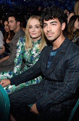 Joe Jonas and Sophie Turner -- The Happy Couple