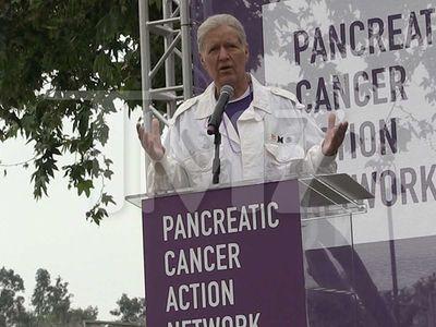 Alex Trebek Says Pancreatic Cancer Survivors Like 'Jeopardy' James Holzhauer