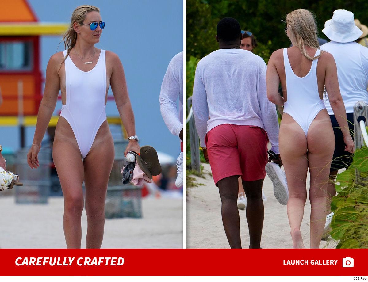 3395244657 Lindsey Vonn Hits Beach with Boyfriend P.K. Subban in Amazing Bathing Suit
