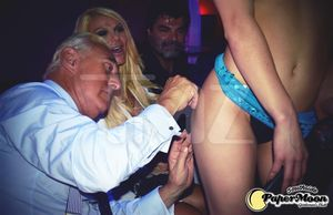 Roger Stone At A Strip Club -- A Sign Of The Times