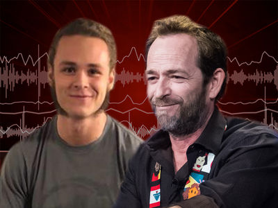 Luke Perry's Son Opens Up About Working with Dad on Quentin Tarantino Film