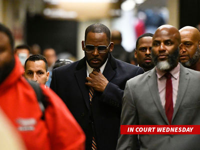 R. Kelly Ponies Up $62k in Back Child Support to Avoid Jail
