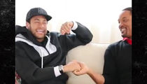 Neymar Loses His Mind Over Meeting Will Smith