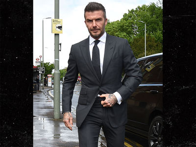 David Beckham Punished In Handsomest Court Appearance Ever