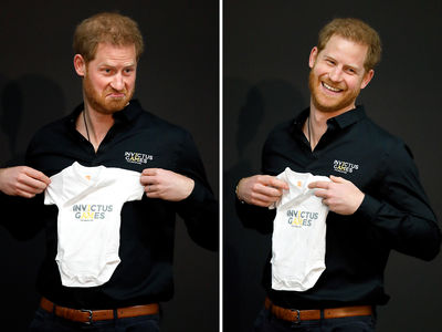 Prince Harry Back to Work as Model Dad for Invictus Games