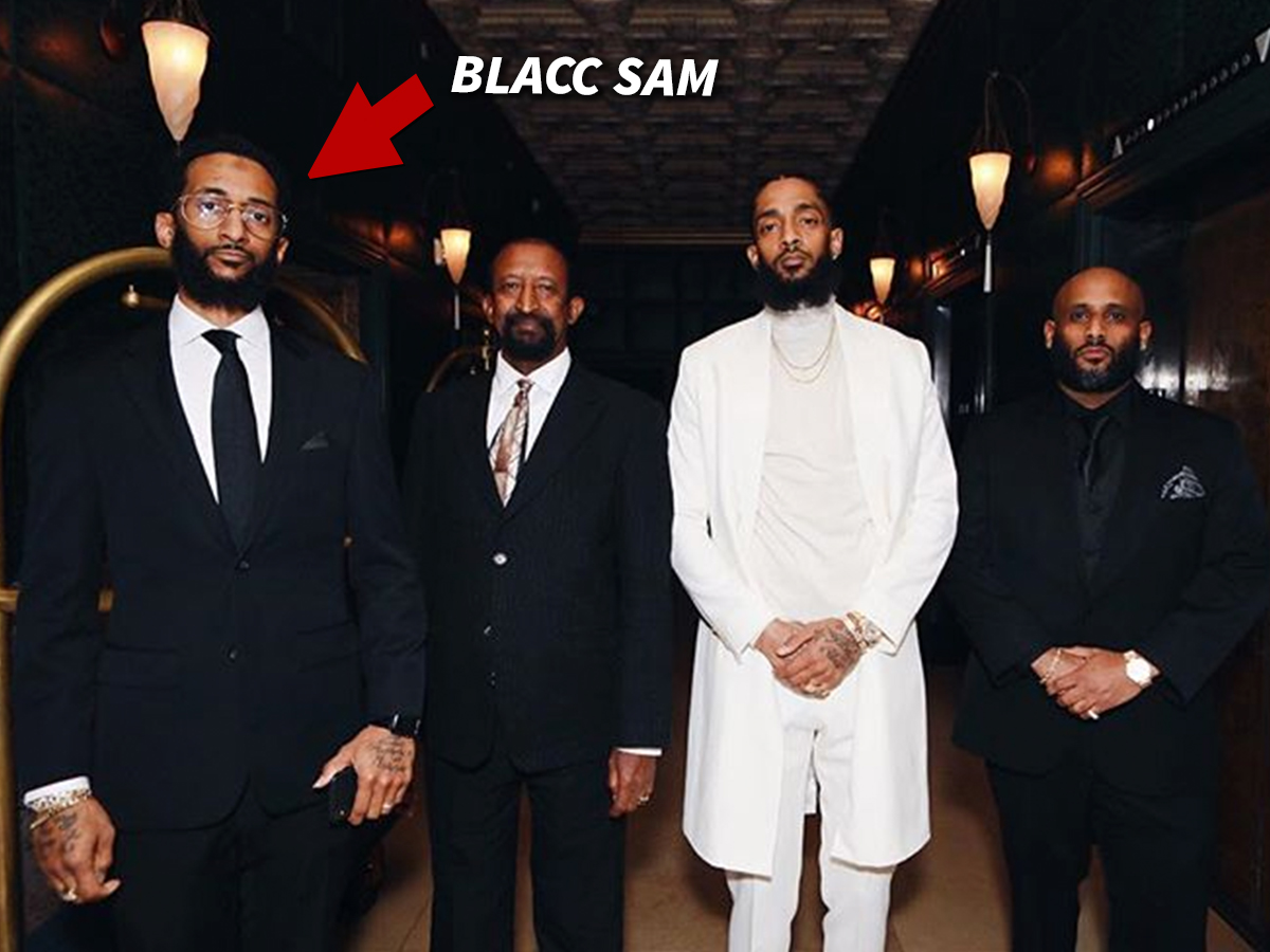 Blacc Sam Claims His Brothers Sudden Death Whipped Up A Media Frenzy And Its Bringing Loads Of Time Sensitive Business Opportunities Because Nipseys