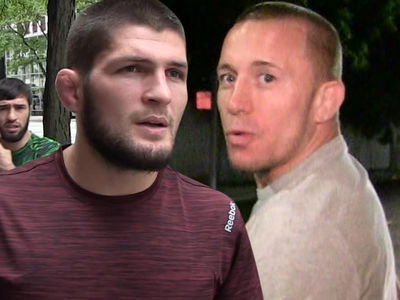 Khabib's Manager Working on UFC Fight with Georges St-Pierre