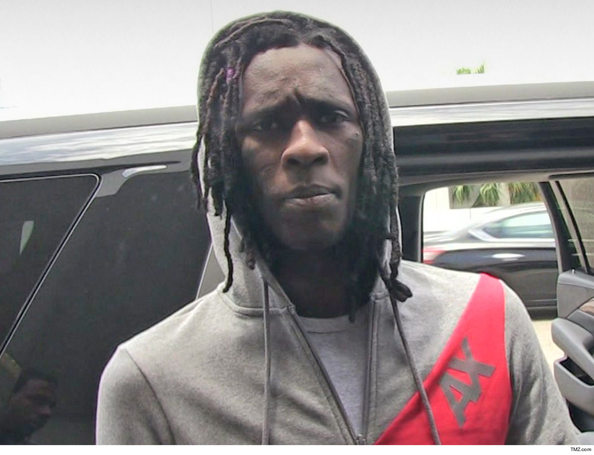 1da88296c32 Young Thug s car and 2 party buses filled with his team were targeted in a  hail of bullets early Friday morning in Miami