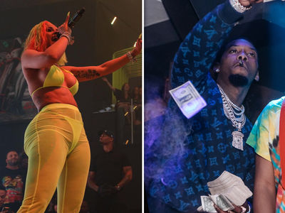 Cardi B & Offset Perform at Different Miami Clubs After Drive-By