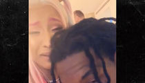 Cardi B Surprised by Offset at Rolling Loud with Kulture, Birkin Bags
