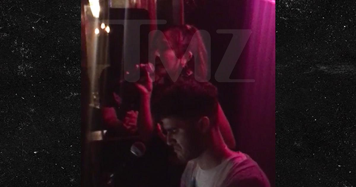 'Versace' Star Darren Criss Sings 'Shallow' at Piano Bar