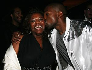 Kanye and Donda West Photos