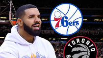 Drake Self-Cursed the 76ers to Help Toronto Raptors Win