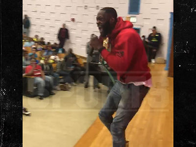 Deontay Wilder Gives Epic Pump-Up Speech To Elementary School Kids