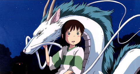 Haku from 'Spirited Away'