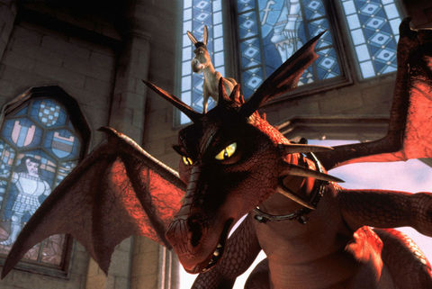Dragon from 'Shrek'