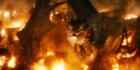 Smaug from 'The Hobbit'